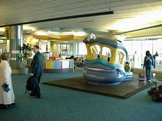 Vancouver Airport Kids Play Area